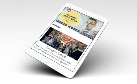 Mobiele site Radio 2