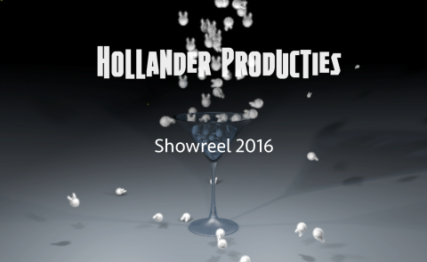 Showreel image website